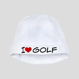 I Heart Golf baby hat