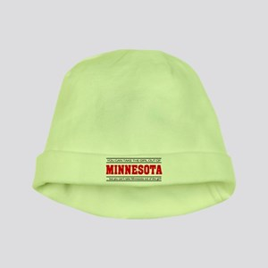 'Girl From Minnesota' baby hat