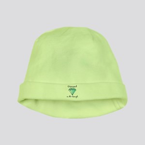'Diamond in the Rough' baby hat