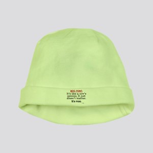 'Moo Point' baby hat