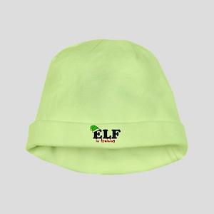 'Elf In Training' baby hat