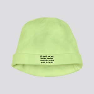 'The Hand Song' baby hat