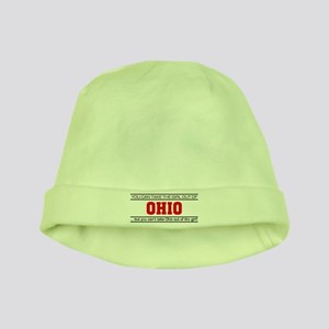 'Girl From Ohio' baby hat