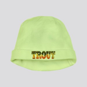 Brook Trout Fly Fishing Catch baby hat