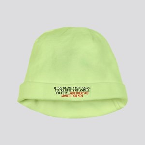 If you're not vegetarian baby hat