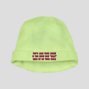 Lose your lunch - baby hat