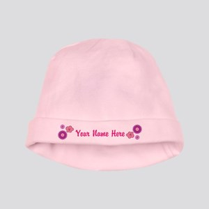 Personalized Girl Baby Hat
