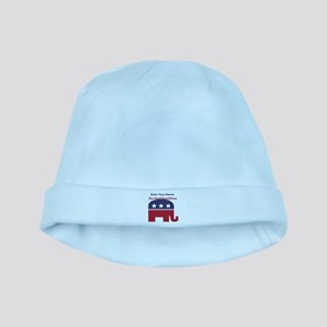 Personalize Die Hard Republican baby hat