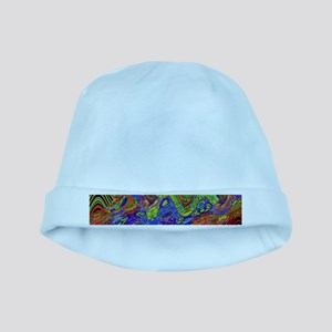 Psychedelic baby hat