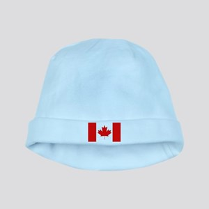 Flag of Canada baby hat