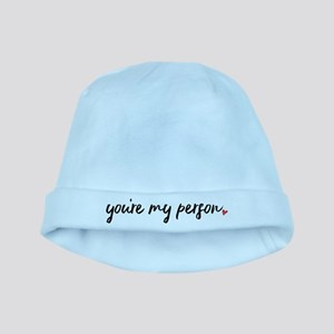 You're My Person Baby Hat