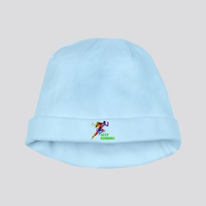 Keep Running baby hat