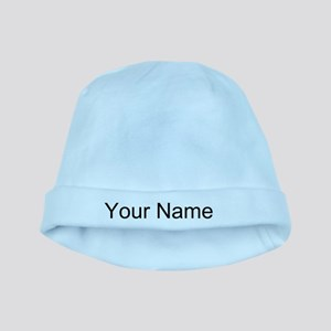 43783b9019628 Personalized Your Name Baby Beanie Hat