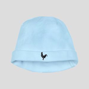 Big Black Chicken baby hat