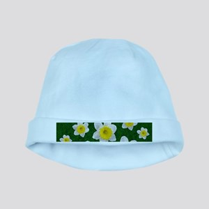 Spring Daffodils baby hat