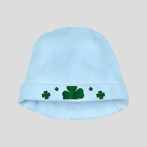 Shamrocks Multi baby hat