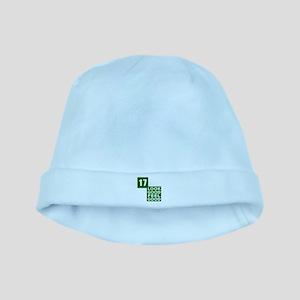 17 Look Good Feel Good Birthday baby hat