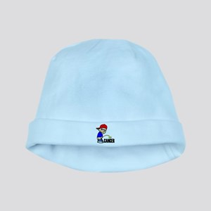 Piss On Cancer -- Cancer Awareness baby hat