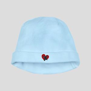 French Bulldog Love baby hat