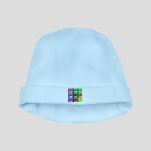 Wheaton Terrier Pop Art baby hat
