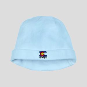 Steamboat Grunge Flag baby hat