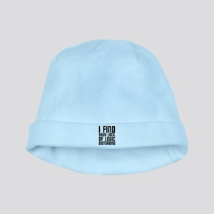 Lack of Logic baby hat