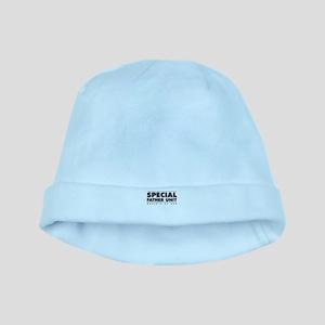 Dad2_BACK_BLK baby hat