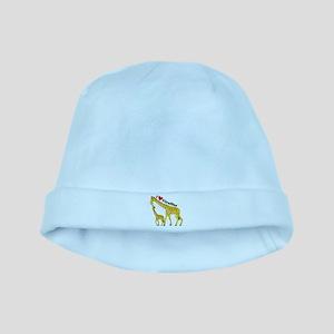 I Love Giraffes baby hat