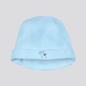 Four Aces baby hat
