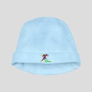 Keep Running baby hat