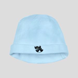 Black Cocker Spaniel Play baby hat