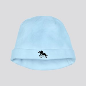 Get Over It! Horse Jumper Baby Hat