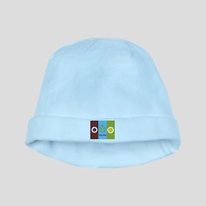 Fresno Flag baby hat