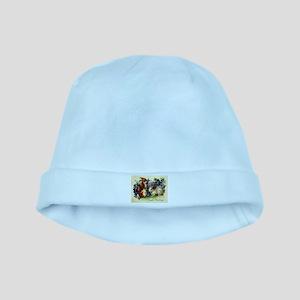 """""""Easter Bunnies"""" baby hat"""