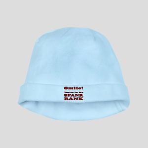 My Spank Bank baby hat