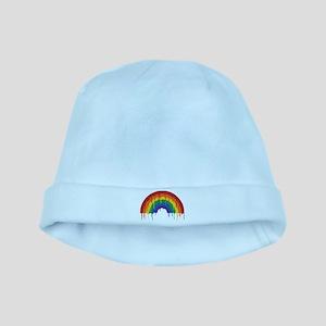 Rainbow baby hat