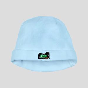 W 253 ST baby hat
