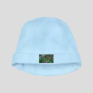 Flower Garden baby hat