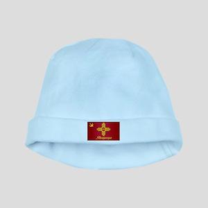 Albuquerque City Flag baby hat