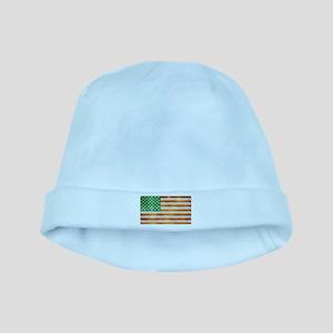 Irish American Flag baby hat