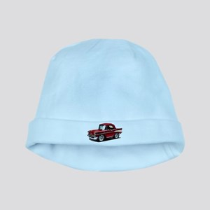 BabyAmericanMuscleCar_57BelR_Red baby hat