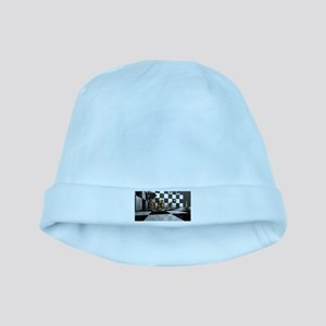 Chess King Play baby hat