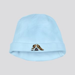 Teddy the English Bulldog baby hat