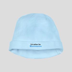 I'd Rather Be Masturbating baby hat