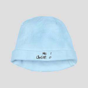Cancer Survivor Humor baby hat