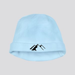 Mountains baby hat