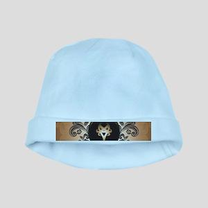 Insight, foresight rune baby hat