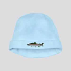 Rainbow Trout - Stream baby hat