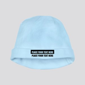 Text message Customized Baby Hat