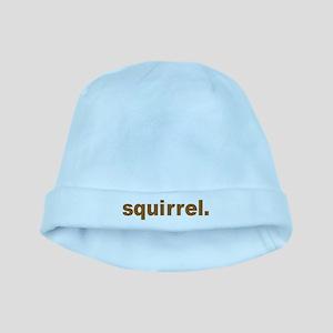 squirrel baby hat